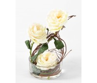Artificial ENGLISH ROSE BOUQUET
