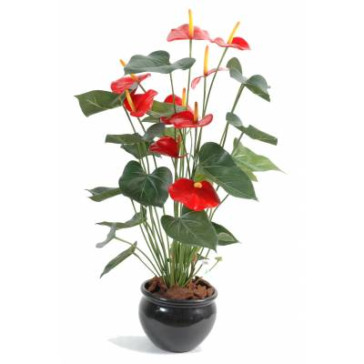 Anthurium artificiel *9