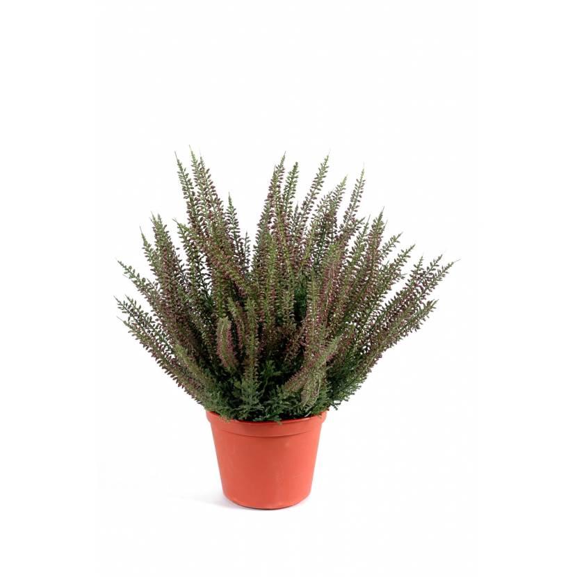 Bruyere artificielle large en pot for Espace vert 974