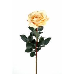 Rose artificielle SINGLE ELISABETH natural touch