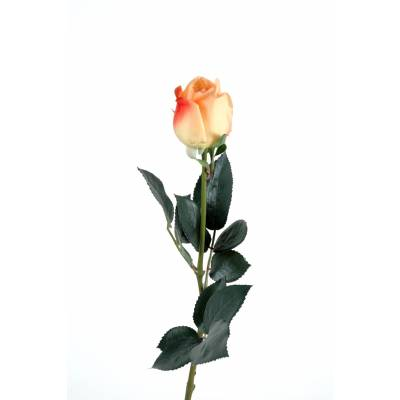 Artificial Rose BUTTON LISA natural touch
