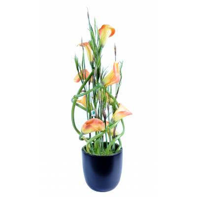 Bouquet, artificial CALLA LILY
