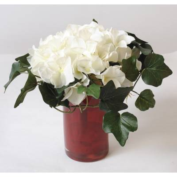 Bouquet of artificial HYDRANGEA