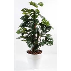 Philodendron artificial GUARDIAN COCO POT PURE