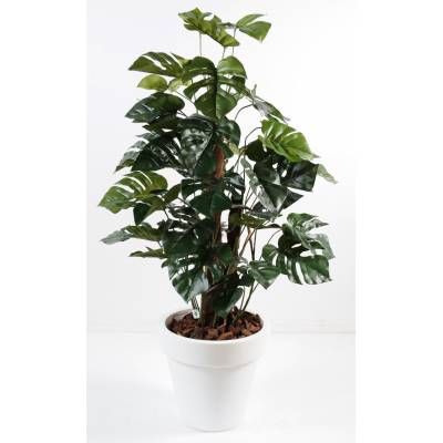 Philodendron artificiel TUTEUR COCO EN POT PURE