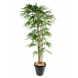 Bambou artificiel*3 FEUILLE LARGE