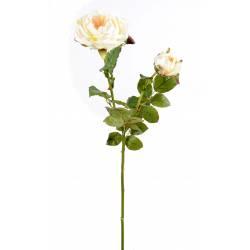 Artificial Rose DAMASK 1FL 1BT