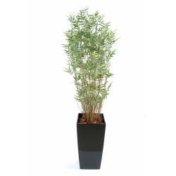 Bambou artificiel MULTITREE ORIENTAL en pot kubis