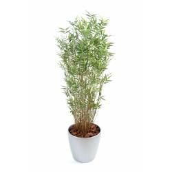 Bambou artificiel MULTITREE ORIENTAL en pot rond