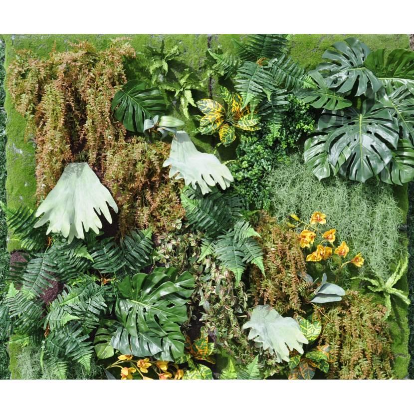 mur artificiel vegetal 200 200. Black Bedroom Furniture Sets. Home Design Ideas
