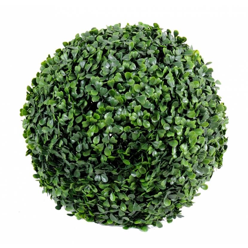 Buis artificiel boule v for Arbuste buis artificiel