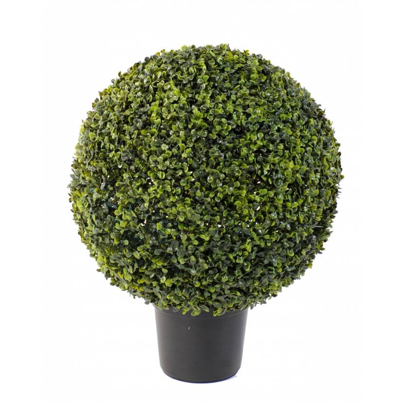 buis artificiel boule pot. Black Bedroom Furniture Sets. Home Design Ideas