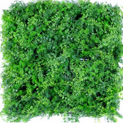 Artificial mixt fern background wall