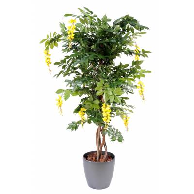 Glycine artificielle multi tree en pot rond