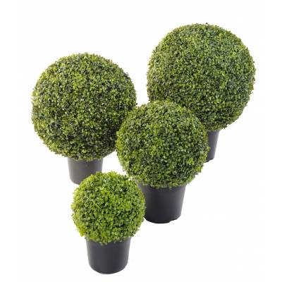 Boxwood artificial BALL POT