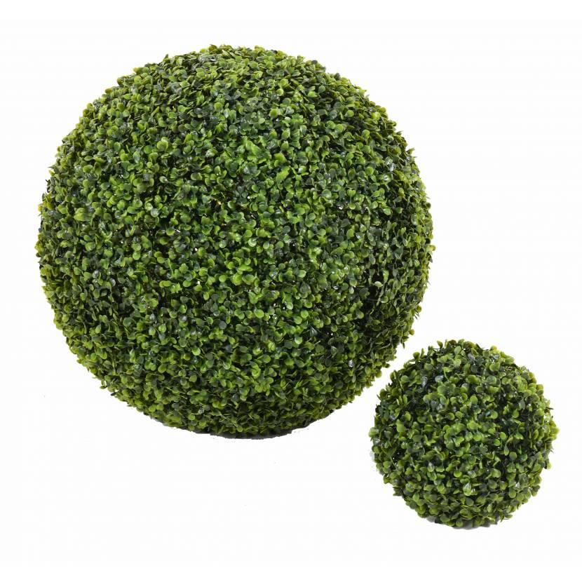 Buis artificiel boule gr for Arbuste buis artificiel