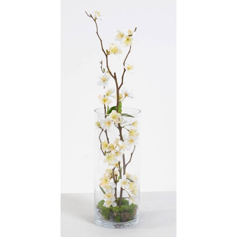 bouquet artificiel cerisier. Black Bedroom Furniture Sets. Home Design Ideas