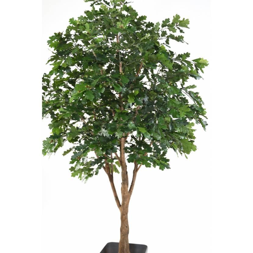 chene arbre artificiel 270. Black Bedroom Furniture Sets. Home Design Ideas