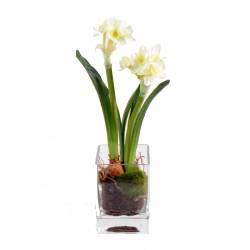 Bouquet artificiel. Arbres artificiels par Vert Espace, Import-Export.