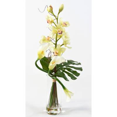 Bouquet artificiel CYMBIDIUM