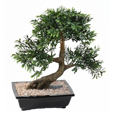 Bonsai artificiel BLACK WILLOW EN COUPE