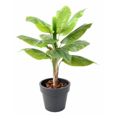 BANANIER artificiel EN POT GREEN BASIC TOP PLANTER
