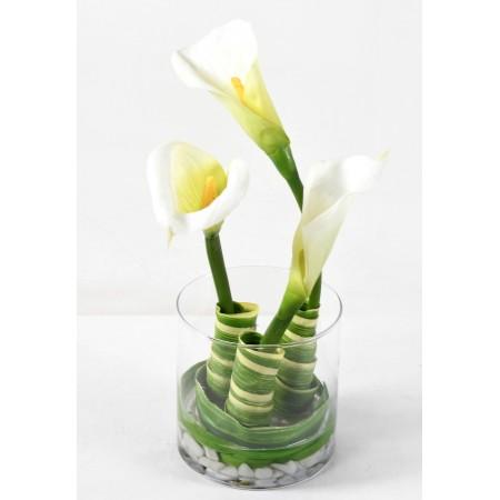 Bouquet artificiel Arome et Pandanus