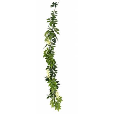 WISTERIA artificial GARLAND NEW