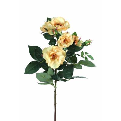 Artificial Rose MANDY natural touch