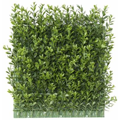 "BOXWOOD Artificial ""RED DAY"" PLATE WALL UV"