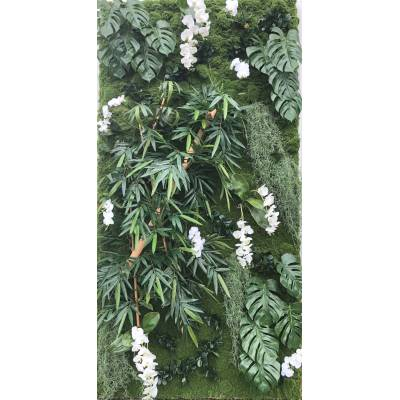 WALL Artificial PLANT BAMBOO PHILO