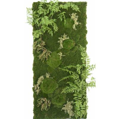 MUR Artificiel VEGETAL FOUGERE MOUSSE