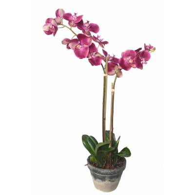 PHALAENOPSIS Artificial POTTED 85 CM