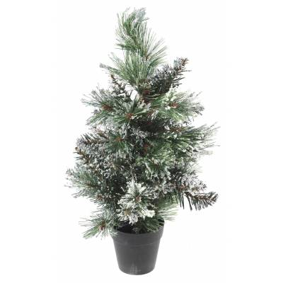 SAPIN Artificiel MINI FINLEY GIVRE
