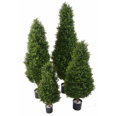 "BOXWOOD Artificial ""RED DAY"" TOPIARY UV"