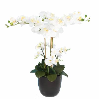 Bouquet artificial PHALAENOPIS WHITE