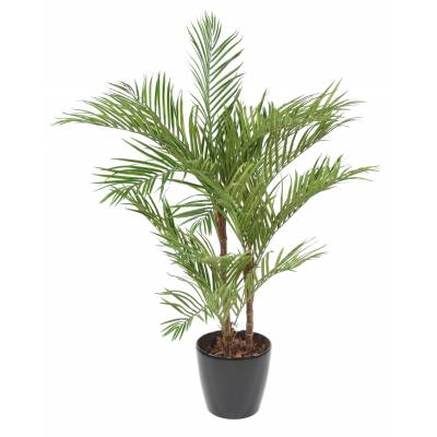 ARECA PALM*3 Artificiel EN POT ROND