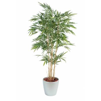 Bamboo artificial NEW POT ROUND