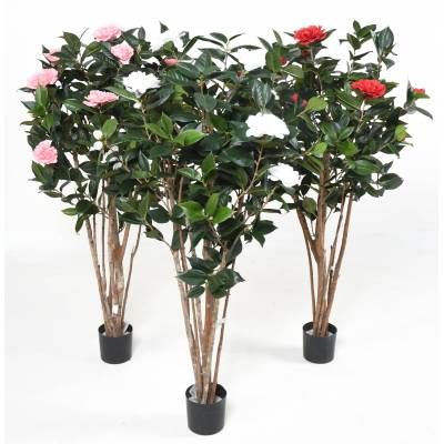 CAMELIA Artificial JAPONICA DOUBLE NEW 130