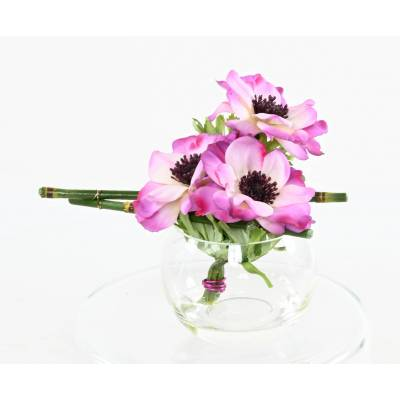 CENTRE TABLE, Artificial ANEMONE