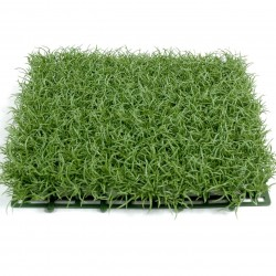 Herbe artificielle en plaque